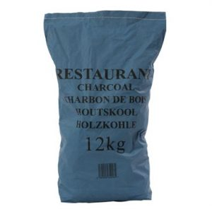 1 x 12kg Premium Grade Restaurant Lumpwood Charcoal- Ideal for catering use or for larger barbecues.