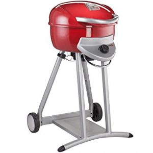 44cm Patio Bistro Gas Barbecue Finish: Red
