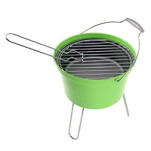 4YourHome Lightweight Portable Camping BBQ Bucket – Green