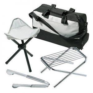 7 Piece Cooler Bag & Grill Set