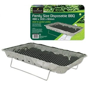 Abditive Family Size Instant BBQ Set Home Outdoor Garden Travel Pack