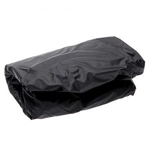 Anself Waterproof BBQ Cover Garden Patio Rainproof Dustproof Sunscreen Gas Barbecue Grill Protector (L)
