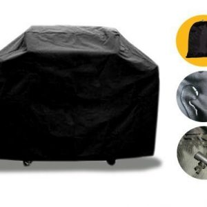 BBQ Grill Cover Outdoor Garden Waterproof Dustproof Breathable Polyester Barbecue Gas Grill Protection