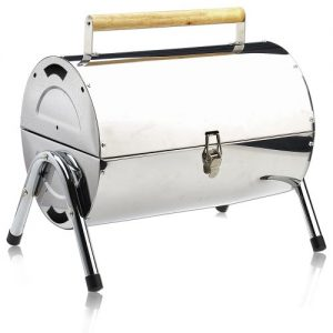 BBQ Portable Charcoal Grill Stainless Steel Barbecue Grill Foldable Table Coal Garden Travel Camping Folding Grill