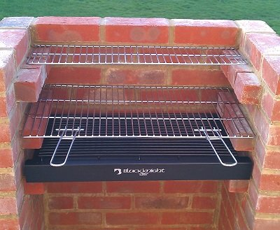 Brick Bbq Kit With Stainless Steel Grill Bbq Kit Warming