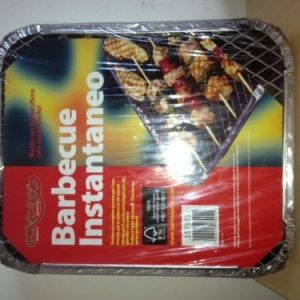 Bar-Be-Quick Disposable Barbecue Limited Amount at this Price