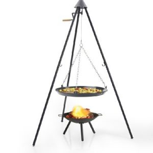 Barbecook 166cm Tripod Barbecue with Pulley