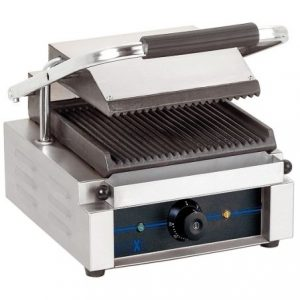 Bartscher Electric Contact Grill Ridged