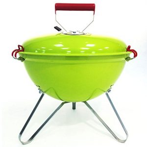 Bentley 14″ Portable Kettle Charcoal Bbq With Grill For Picnic, Camping, Etc – Green (Available In 5 Colours)