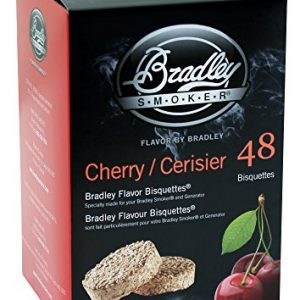 Bradley Smoker Cherry  Flavoured Bisquettes (48 Pieces)