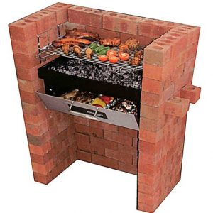 Build in – Barbecue Grill & Bake with Oven & BBQ Grill