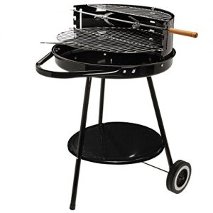 CHARCOAL ROUND KETTLE GARDEN PORTABLE FAMILY BBQ GRILL CAMPING BARBEQUE UTENSILS