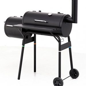 Charcoal Barbecue Smoker – BBQ Smoker Grill including BBQ Chips