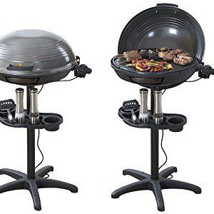 Cooks Professional Electric BBQ Grill With Built In Thermometer Gauge Ideal For Outdoor And Indoor Use All Year Round – 2000 Watts.