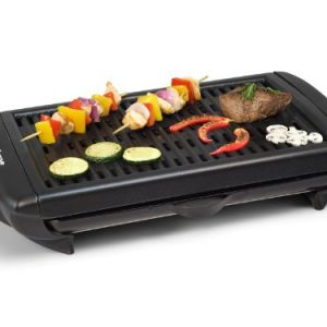 Electric BBQ Grill – Die cast aluminum grill plate