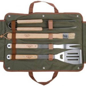 Esschert Gt37 50 x 26 x 5cm BBQ Tools Wood/ Metal – Multi-color
