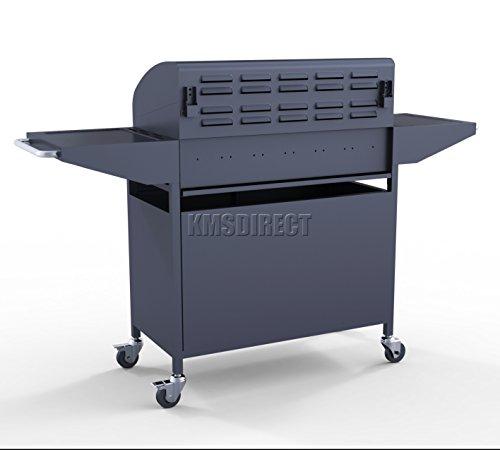 foxhunter garden outdoor portable bbq gas grill 4 burner barbecue