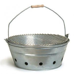 Garden Trading Rock Galvanised BBQ