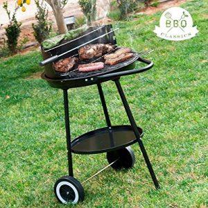 555°C540–Charcoal Barbecue Wheels 42cm