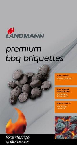 Landmann 0951 3Kg Premium Charcoal Briquettes