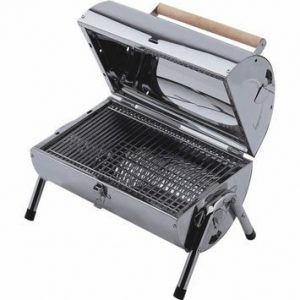 Lifestyle Explorer Stainless Steel Charcoal Barrel BBQ LFS105