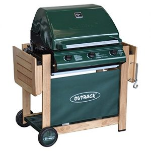 Outback Hunter 3 Burner Hooded Gas Barbecue Grill