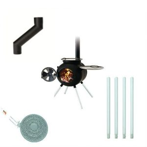 Ozpig Barbecue With Accessories – Diffuser – Chimney Offset – Extensions Legs –