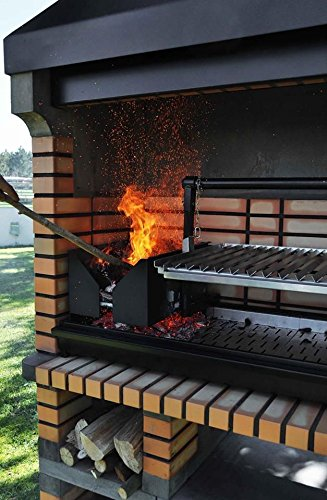 Pan American Brick Masonry BBQ Grill - The Ultimate in Wood fired BBQ Grilling