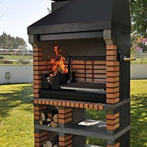 Pan American Brick Masonry BBQ Grill – The Ultimate in Wood fired BBQ Grilling