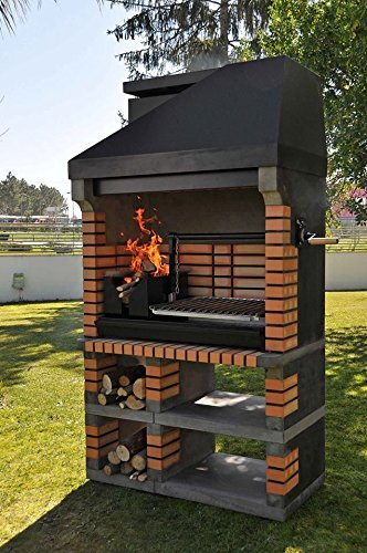 pan american brick masonry bbq grill the ultimate in wood fired bbq grilling bbq sale. Black Bedroom Furniture Sets. Home Design Ideas