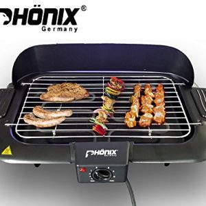 Phoenix BBQ Barbecue Table Grill Electric Grill 2000 Watt Barbecue Grill NEU & OVP