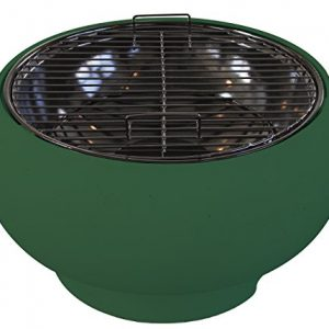 Supagrill 673700 CPL-ART 4135 Pod Tabletop Barbecue – Olive Green