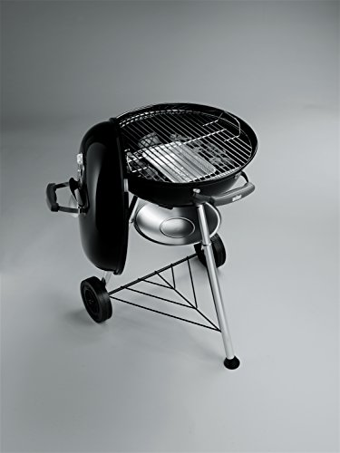 weber compact 47cm charcoal bbq black bbq sale. Black Bedroom Furniture Sets. Home Design Ideas